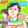 CPT HeadStomper 2019 ネモ社長優勝ー!