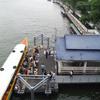 チャオプラヤー川とサンティチャイプラカーン公園とプラスメン砦(Bangkok)