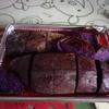 いただいた紫いもでモンブラン・ケーキをつくったら意外な結果になりましたが、とっってもおいしかったです!
