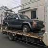 葵区から不動車の外車をレッカー車で廃車の出張引き取りしました。