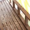 木製ウッドデッキDIYのデメリット。防腐剤キシラデコールを塗って10ヶ月、もう剥げてきた!