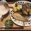 焼き魚の晩御飯