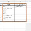 【VBA】フォルダにあるファイル名を取得し、Excelのファイル名リストと照合を取る。