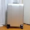 国際線の預け入れ手荷物でどのくらいスーツケースが痛むかをゼロハリバートンのスーツケースでお見せしたい