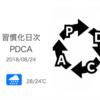 「1000日継続マラソン」が300日に到達して思うこと[習慣化日次PDCA 2018/08/24]