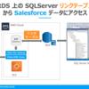 RDS 上の SQLServer リンクテーブルから Salesforce データにアクセス