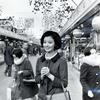 星由里子さんの昔の白黒写真 カラー化
