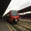 ベオグラードからノビサドへ電車で移動する