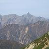 北アルプス 常念岳 (2857m)~蝶が岳 (2664m)