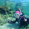 ♪快晴の沖縄で水中も女子もキラキラ♪〜沖縄体験ダイビング恩納村〜