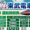 東武鉄道 GW 臨時電車を撮影