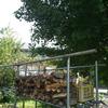 薪小屋の完成
