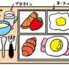 黄身が美しい目玉焼きの作り方&朝食をワンプレートで出すことのすゝめ