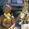 ●韓国・釜山の日本領事館前に「ゴミで作った慰安婦像」が登場!