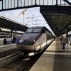 フランスからベルギーへ  電車の旅