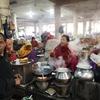 ミャンマーからインドまで陸路で行ってみた ⑪インパールのイマ・マーケットに行ってきた。
