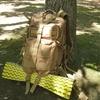 キャンプ道具を持って鶴見緑地公園にのんびりピクニックに行きました