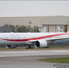 塗装後の姿がついに見えた! 次期日本政府専用機777-300ER