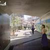 フウナ in リアル 2021・3月 目黒川 「桜」~五反田ふれあい水辺広場~