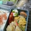 毎日の夫のお弁当!すべて残り物と冷凍食品だけどけっこうイケルね!