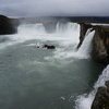 アイスランドの神の滝ゴーザフォス