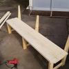 屋外用ベンチの製作(3) 組み立て、完成