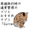 周遊旅行時の通貨管理のコツとおすすめ無料アプリ「Currency」