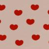 ハートの壁紙(ミルクチョコレート)