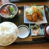 飛賀屋 福田屋鹿沼店3F カキフライ定食。
