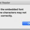 PuppeteerでWebフォントを含むページのPDF化をするとAdobe Readerで文字化けする