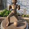 キャプテン翼銅像巡りとパン屋さんの「モーニングビュッフェ」