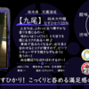 【水曜日の甘口一杯】【九尾】 純米大吟醸 槽搾り 無濾過生原酒 なすひかり35%【FUKA🍶YO-I】