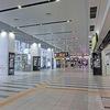 ガラガラの大阪駅(3F南北連絡橋口)
