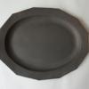 最近買った皿/su-nao home オーバルリムプレート十二角(L)