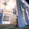 オールドタウンにある『カシコン銀行(Kasikorn Bank )』ライトアップされた姿はお城のよう♩