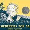 """【英語-多読】絵本~""""BLUEBERRIES FOR SAL""""~洋書で楽しく学ぼ♪"""