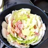 豚肉と白菜の生姜鍋