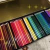 50色の色鉛筆が手に入って、テンション爆上がりのまま塗り絵してみたよ!
