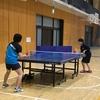 第一シード! 鈴鹿市、中学校、卓球  鈴亀地区中学校協会杯卓球大会。