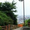 巨人への道~ケーブルカー線路越しの眺めと283段の階段~