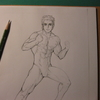 """イラストに挑戦(1130H)・・・改めて""""筋肉""""を描いてみる"""