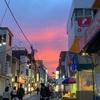 【風景】元住吉 ブレーメン通りの夕焼け