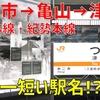 四日市ぜんそくを学ぶ&日本一短い駅名「津」ってどんな駅?【JR東海最長片道切符8】