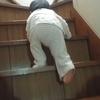 階段をのぼるゆうくんと成長を記録しておく大切さについて