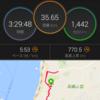 35km走