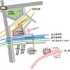 シンプル化されたJR折尾駅 2021年2月20日時点 福岡県北九州市八幡西区堀川町