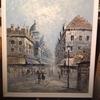 00012『油絵:(仮題)パリ』(作者不明) ※Duchamp (?)