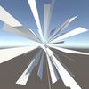 【Unity】放射線のメッシュアニメーションを使用できる「unity-sunburst-effects」紹介