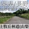 【動画】山梨県/長野県 川上牧丘林道(山梨側)