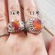 【UVレジン作り方】石座付き指輪×レジン用モールド のリング